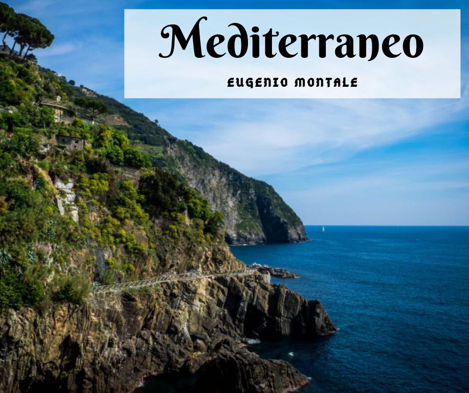 Mediterraneo di Eugenio Montale