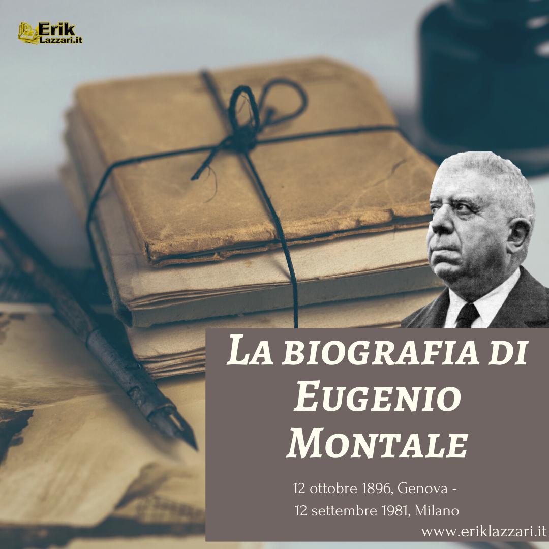 La biografia di Eugenio Montale